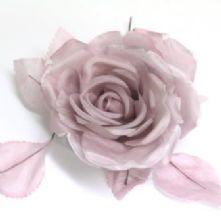 Double Petal Mauve Two Tone Silk Rose